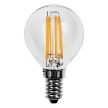LED pirn 4W E14 G45 filament
