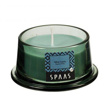 Küünal lõhna klaasis kooniline 15h vaarikas/liilia 5411708161224
