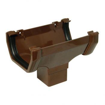 Vihmaveerenni toru allatulek kandiline 114mm pruun