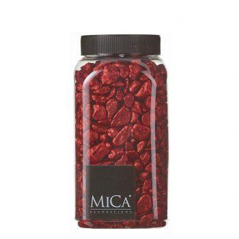 Dekoratiivkivid Mica punane 1kg