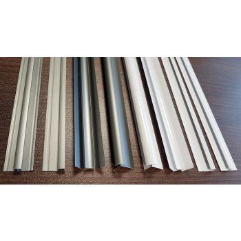 Komposiitplaadi alumiinium sisenurgaliist 610mm valge 4742486007345