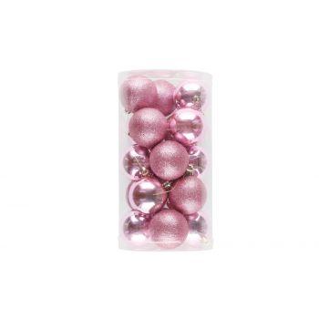 Kuuseehted 20tk 6cm roosad 6410413184107