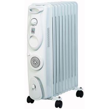 Õliradiaator Gils 9R 2000W+soojapuhur 400W 4741315948699