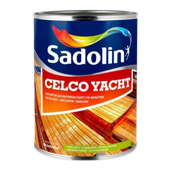 Välistöödelakk Sadolin Celco Yacht 90 1L läikiv
