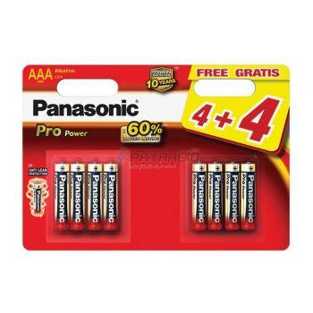 Patarei Panasonic Pro AAA/LR03 8tk