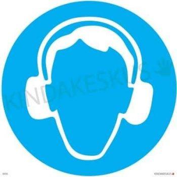 Kleebis Kanna kuulmiskaitsevahendit 10x10