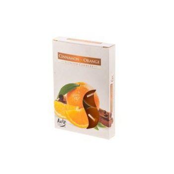 Teeküünal 6tk kaneel-apelsin