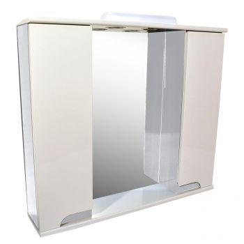 Peegelkapp Premium Lux 80cm metallik