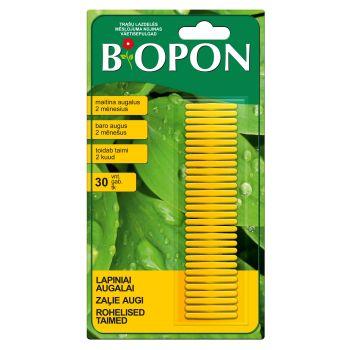 Biopon väetisepulgad rohetaimede 30tk