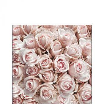 Salvrätik Pastel Roses 25x25cm 8712159144161