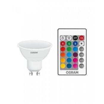 LED lamp 4,5W GU10 RGBW + pult