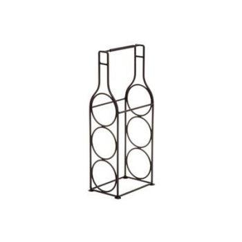 Veinihoidja Pudel metallist 43cm