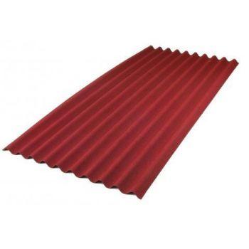 Onduline Classic katuseplaat 2,0 x 0,94 m punane