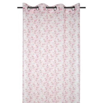 Kardin Zaelia 140x260cm roosa