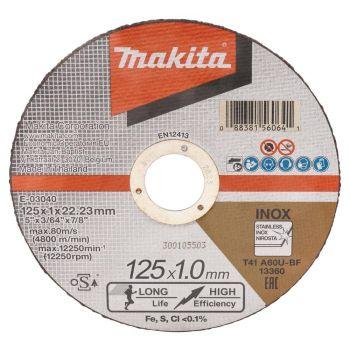 Lõikeketas Makita 125x1,0mm metall