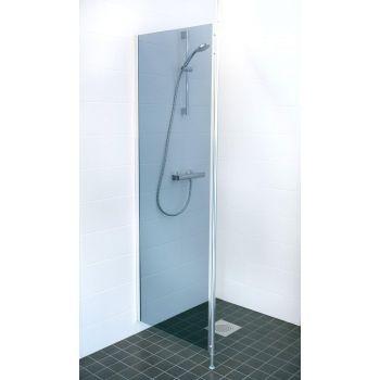 Fikseeritud dušisein 600mm hall klaas
