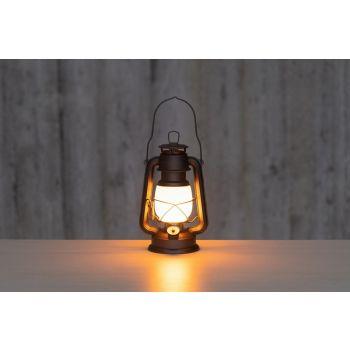 Latern 4Living LED 24,5cm multifunktsionaalne soe/valge