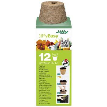 Turbapotid ümar Jiffy Easy-R6 6cm 12tk 8718734420026
