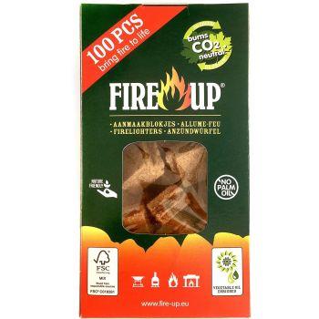 Süütekuubikud Fire-UP 100tk 8711412030081