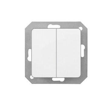 Veksellüliti 2-ne valge raamita 4779101410389