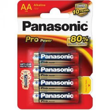 Patarei Panasonic Pro Power AA/LR6  4-pakk 5410853038948