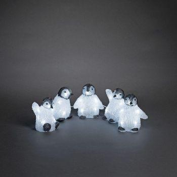 Jõuluvalgusti Pingviinid 5tk LED 7318302662035