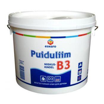 Niiskuskindel puiduliim B3 2,5l