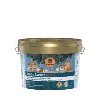 Puidulasuur Wood Lasur Aqua valge 2,5L 4740381015410