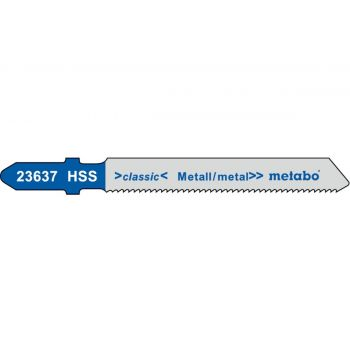 Tikksaetera Metabo metall 1,2/50mm HSS 5tk