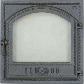 Ahjuuks klaasiga 405 410x410mm gaasikindel parem 6419876004052