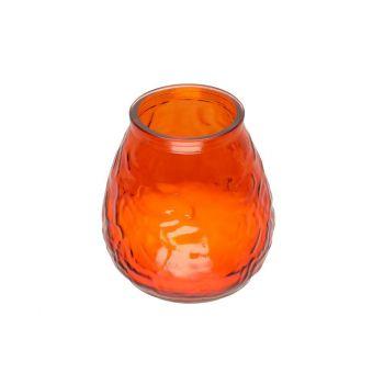 Küünal Venice 9,5x9,5cm suur oranž