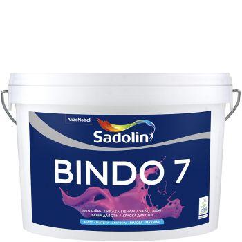Seinavärv Sadolin Bindo 7 5L, matt, valge (BW)