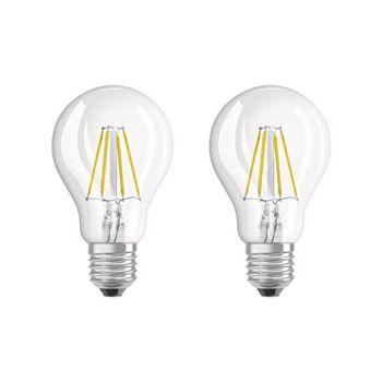 LED lamp 4W 827 E27 2tk