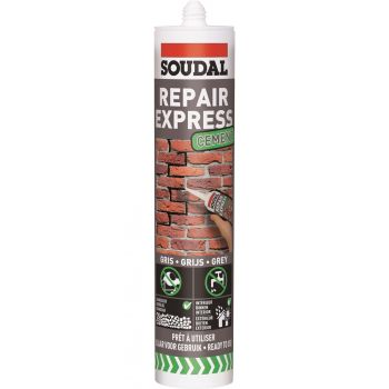 Täitepasta Soudal Repair Express Cement hall 300ml