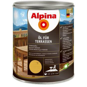 Alpina Öl für Terrassen 0,75L hele