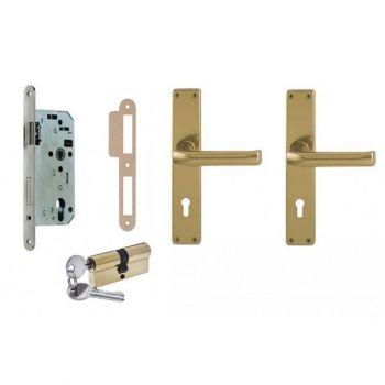 Lukukomplekt E115S Set F4 pronks Lukukomplektid 4743015032036