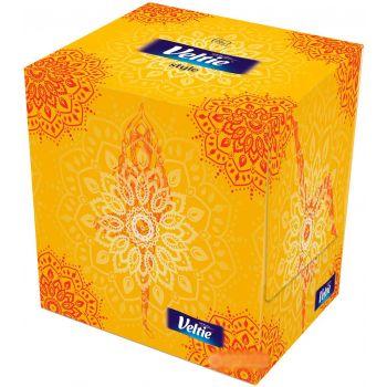 Salvrätikud karbis Velvet Cube Style 2kihti 70tk 5901478997647