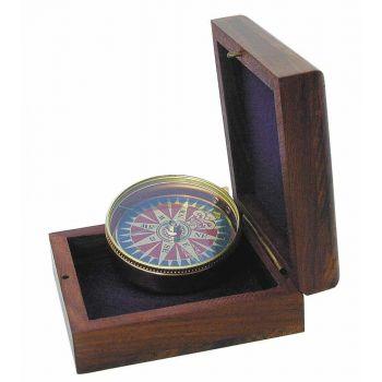 Kompass tuuleroosiga d5cm 11370