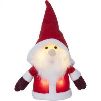 Dekoratsioon Päkapikk Punane 24cm. 4 soe-valget LED tuld, patareitoide 7391482029720