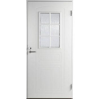 Välisuks Basic B0020 10x21 parempoolne valge