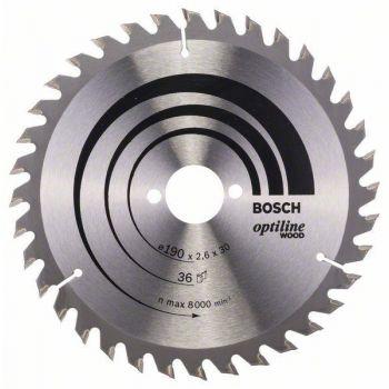 Saeketas Bosch puidule 190x30mm