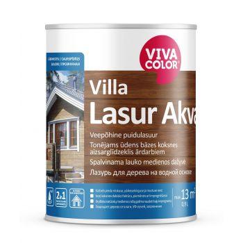 Veepõhine puidulasuur Vivacolor Villa Lasur Akva EP 2,7L