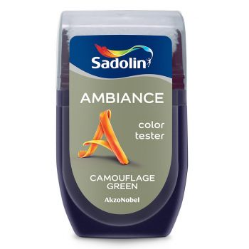 Ambiance tester Sadolin 30ml camouflage green