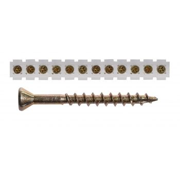 Plaadikruvi lindil 42mm Kollane Zn PH2 (1000/tk karp)