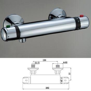 Dušisegisti Harma termostaatiline B8960 kroom