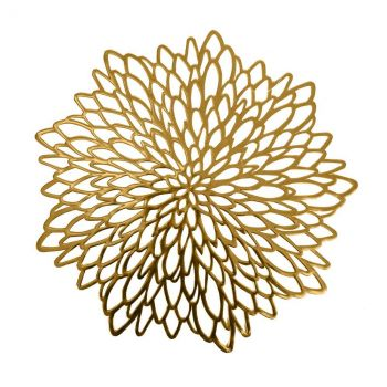 Lauamatt Fiore D38cm kuldne