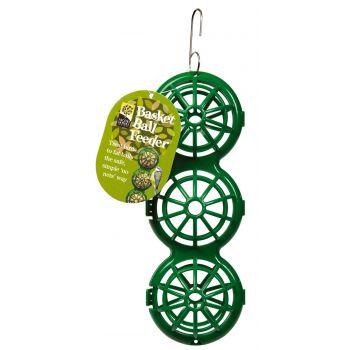 Söötja korvid 3-rasvapalli riputatamiseks roheline