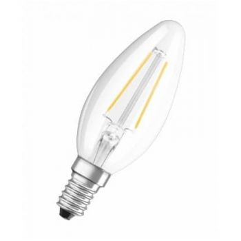 LED lamp 4W 827 E14 470lm Küünal Klaar 4052899941557