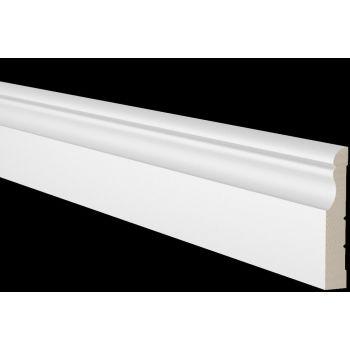 Põrandaliist 21x120mm 2,7m mänd valge 4740538014983
