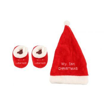 Päkapikumüts ja sussid First Christmas